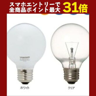 YAZAWA (Yazawa Corporation) longer life ball electric bulb 60W form Φ 70mm