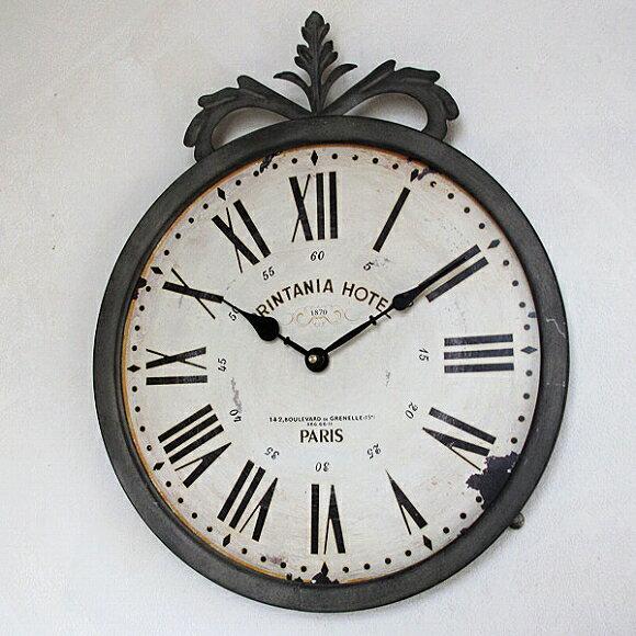 掛け時計 時計 掛時計 メタル ローマ数字 レトロ 雰囲気 フランス 女性 ギフト プレゼント 寝室 アンテーク ヨーロッパ (CGBX-93)【10P01Oct16】