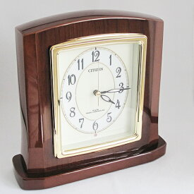 【 SALE在庫限り30%OFF 】CITIZEN シチズン パルロワイエR 高級電波時計 置き時計 (RY-8RY406-006)