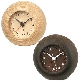 Lemnos レムノス 木製 アナログ 目覚し時計 レスト ステップムーブメント (TL-LA13-12)