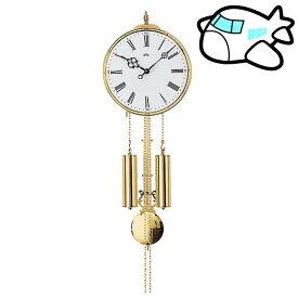 【ポイントアップ中&割引クーポン配布中】AMS 掛け時計 機械式振り子時計 アナログ ゴールド ドイツ製 AMS348 納期1ヶ月程度 (YM-AMS348)