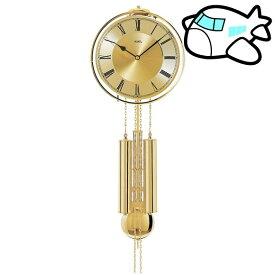 【ポイントアップ中&割引クーポン配布中】AMS 掛け時計 機械式 アナログ ゴールド ドイツ製 AMS356 納期1ヶ月程度 (YM-AMS356)