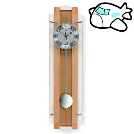 【ポイントアップ中&割引クーポン配布中】AMS 掛け時計 振り子時計 アナログ おしゃれ ドイツ製 AMS5259-18 納期1ヶ月程度 (YM-AMS5259-18)