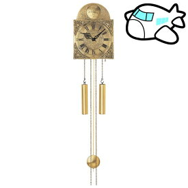 AMS 掛け時計 機械式 アナログ ゴールド ドイツ製 AMS539 納期1ヶ月程度 (YM-AMS539)