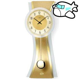 AMS 掛け時計 振り子時計 アナログ ゴールド ドイツ製 AMS7267 納期1ヶ月程度 (YM-AMS7267)