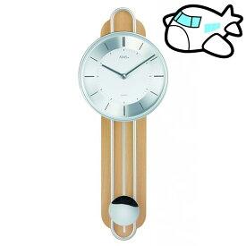 【ポイントアップ中&割引クーポン配布中】AMS 掛け時計 振り子時計 アナログ クール ドイツ製 AMS7315 納期1ヶ月程度 (YM-AMS7315)