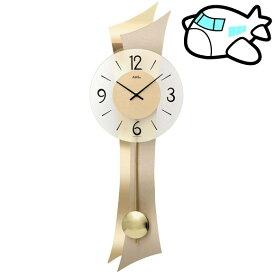 【ポイントアップ中&割引クーポン配布中】AMS 掛け時計 振り子時計 アナログ ゴールド ドイツ製 AMS7427 納期1ヶ月程度 (YM-AMS7427)