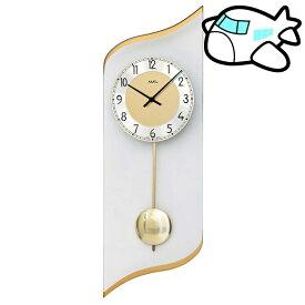 【ポイントアップ中&割引クーポン配布中】AMS 掛け時計 振り子時計 アナログ ゴールド ドイツ製 AMS7437 納期1ヶ月程度 (YM-AMS7437)