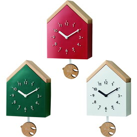 【ポイントアップ中&割引クーポン配布中】振り子時計 北欧 スイープムーブメント 掛け時計 ロヴィーネ 掛置兼用 (IF-CL2951)