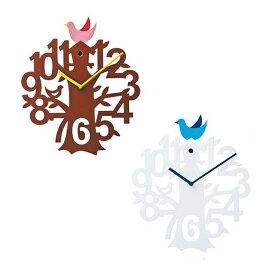 【ポイントアップ中&割引クーポン配布中】振り子時計 掛け時計 小鳥 子ども部屋 ステップムーブメント ビゼリー (IF-CL8940)