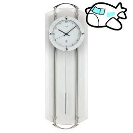 【ポイントアップ中&割引クーポン配布中】AMS 掛け時計 振り子時計 アナログ シルバー ドイツ製 AMS5263 納期1ヶ月程度 (YM-AMS5263)