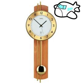 【ポイントアップ中&割引クーポン配布中】AMS 掛け時計 振り子時計 アナログ ドイツ製 AM5266-18 納期1ヶ月程度 (YM-AMS5266-18)