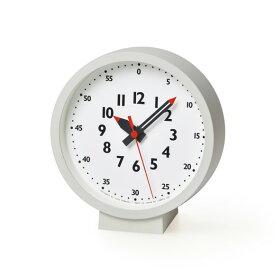 Lemnos レムノス 置き時計 掛け時計 アナログ ステップ 「ファンプンクロック」  (TL-YD18-04)