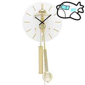 AMS 掛け時計 振り子時計 ゴールド ドイツ製 納期1ヶ月程度 (YM-AMS309)