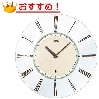 SEIKO Seiko EMBLEM wall clock (HS529A) (logging) | Watch | clock | clock | かけ時計 | wood