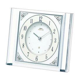 【送料無料】 SEIKO セイコー EMBLEM 置時計 (HW565W) (検) 時計 置き時計 目覚し時計 置時計