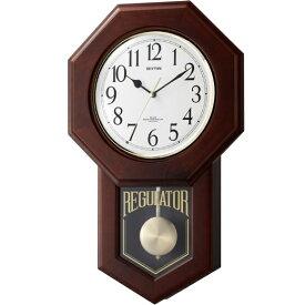 【 送料無料 】【特価2割引】 シチズン 振り子時計 アナログ モーランドR (RY-4MNA06RH06)