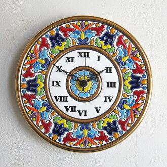 塞维利亚陶瓷钟表 69065 (PC69065) * 冲洗 (校准) | 手表 | 时钟 | 时钟 | kake時計 | 木头