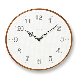 掛け 時計 掛時計 きれい 美しい 女性 プレゼント カラフル 木 木製 ナチュラル リビング 日本製 かわいい ギフト 結婚祝い飲食 店舗 贈り物 贈答品 掛け時計「Ovale」(TL-PC11-23)【10P01Oct16】