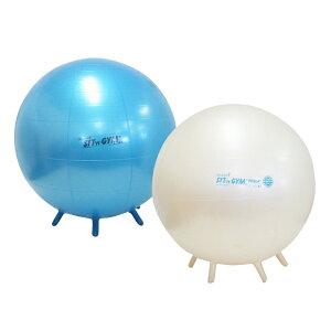 ギムニク バランスボール シッティングジム65 65cm ブルー パール (GY89-65) エクササイズ ヨガ ボール ピラティス