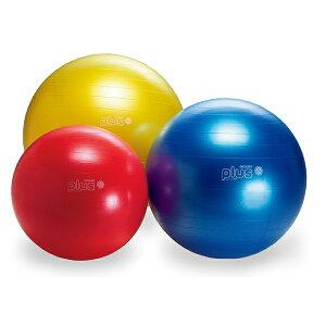ギムニク バランスボール ギムニクプラス55 フィットボール 55cm レッド ライムグリーン パール (GY95-28) エクササイズ ヨガ ボール ピラティス