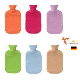 ファシー FASHY ドイツ製 ボトル使用 湯たんぽ 2リットル カシミア (SSf003) [湯たんぽ fashy ゆたんぽ かわいい 可愛い おしゃれ キッズ 子供 こども 停電 省エネ 健康 安眠 グッズ] 【 送料無料 】