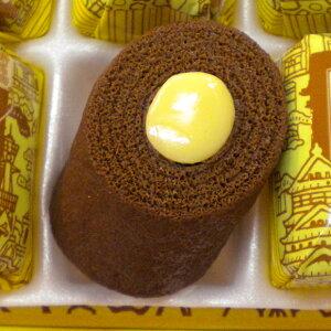 大阪の巻チョコバナナ(6個入り)大阪 浪速 関西 お菓子 バナナ チョコ 名物 パームクーヘン お土産 銘菓