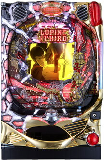 Peace CR Lupin 3-Lupin the third erased ~ 299 ver... (7M9AZ) value Pack 3, [pachinko machine] [with a-controller + circulation processing and household power / volume adjustment / Queens / instructions] [used]