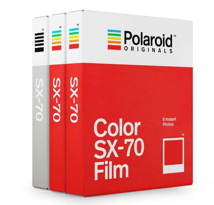 Polaroid Originals SX-70 Triple Pack【並行輸入品】