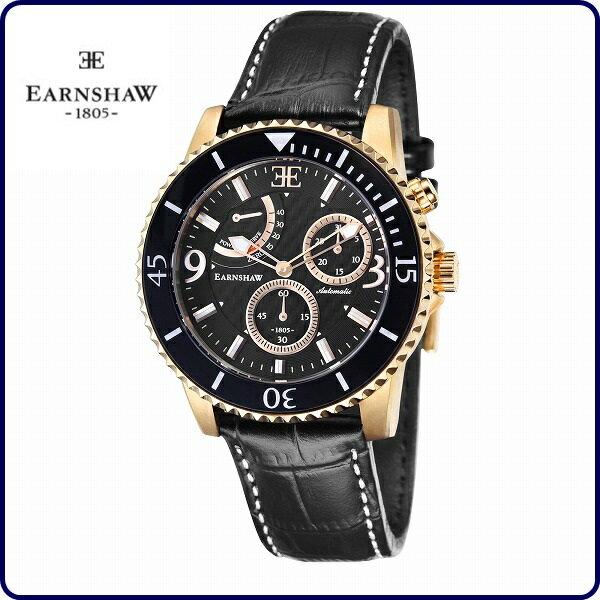 【送料無料】【国内正規品】EARNSHAW アーンショウ ES-8008-04 ADMIRAL [メンズ 腕時計]