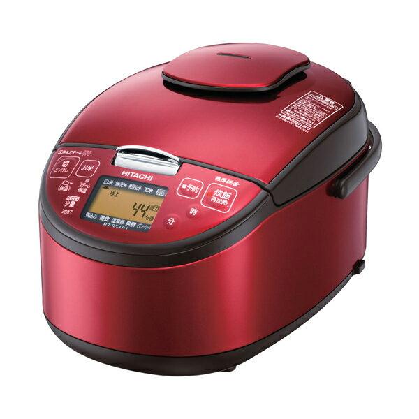 【送料無料】炊飯器 日立 RZ-SG10J-R レッド 極上炊き [圧力&スチームIHジャー炊飯器(5.5合炊き)]