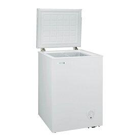 日本ゼネラル・アプライアンス JH94CR ホワイト NORFROST(ノーフロスト) [冷凍庫(94L・上開き)] メーカー直送