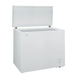 【標準設置無料】日本ゼネラル・アプライアンス JH198CR ホワイト NORFROST (ノーフロスト) [冷凍庫 (198L・上開き)] メーカー直送