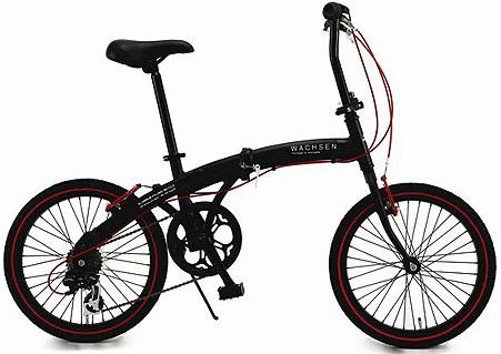 【送料無料】折りたたみ自転車 ヴァクセン BA-100-BRD【同梱配送不可】【代引き不可】【沖縄・北海道・離島配送不可】