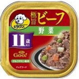 日本ペットフード ビタワングー極旨ビーフ野菜11歳以上100g [犬用フード]