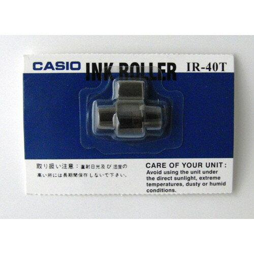 CASIO IR-40T [レジスタ・プリンタ電卓用インクローラー]【同梱配送不可】【代引き不可】【沖縄・北海道・離島配送不可】