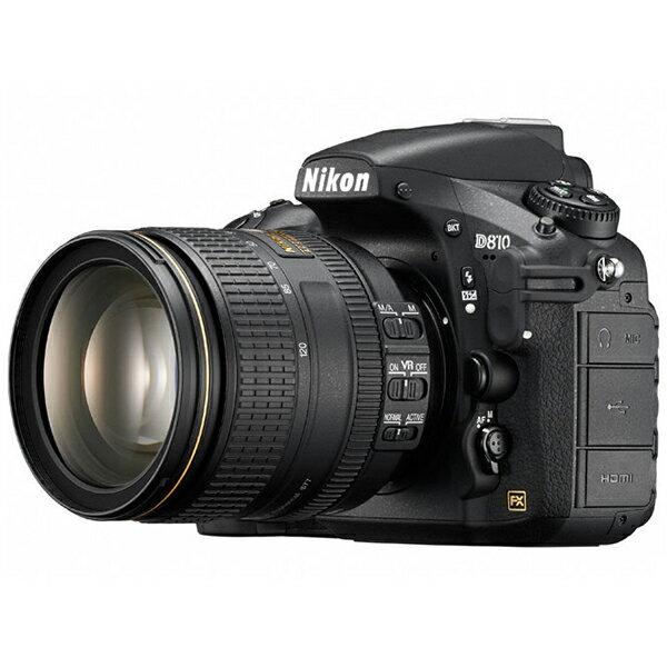 【送料無料】Nikon D810 24-120 VR レンズキット ブラック Dシリーズ [デジタル一眼レフカメラ (3635万画素/24-120 VRレンズキット)]