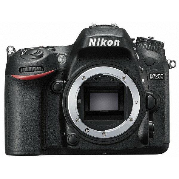 【送料無料】Nikon D7200 ボディ [デジタル一眼レフカメラ (2416万画素)]