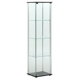 不二貿易 96047 ガラスコレクションケース 4段 メーカー直送