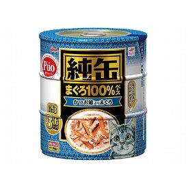 アイシア 純缶 かつお節入りまぐろ125g×3P [ 猫用フード ]