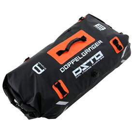 【送料無料】DOPPELGANGER DBT217-BK ブラック×オレンジ [デュアルストレージツーリングバッグ]
