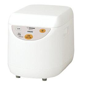 象印 もちつき機 1升 力もち マイコン全自動 ホワイト 餅つき 蒸し器 こねる つぶす パン生地 自家製みそ 簡単 5合〜1升 BS-ED10-WA