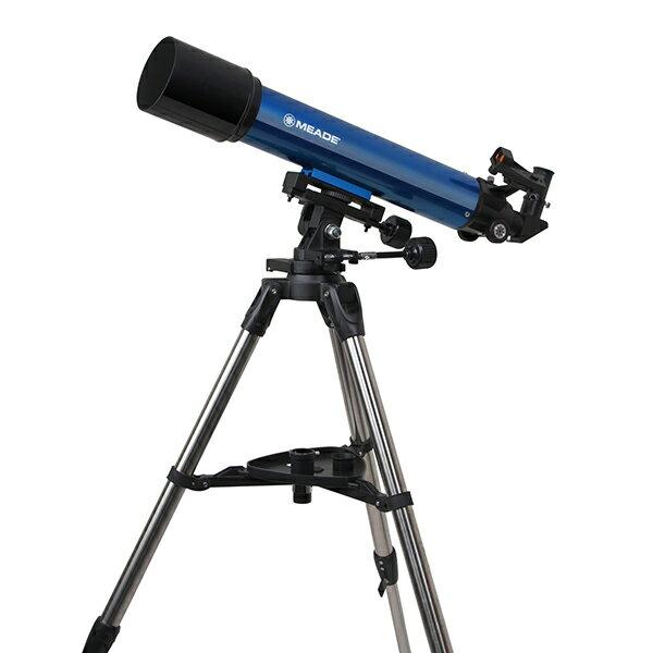 【送料無料】天体望遠鏡 MEADE ミード AZM-90 屈折式 経緯台式 赤道儀 口径90mm 火星 初心者 エントリーモデル 小学生 三脚 軽量 コンパクト 星 惑星 土星 理科 子供