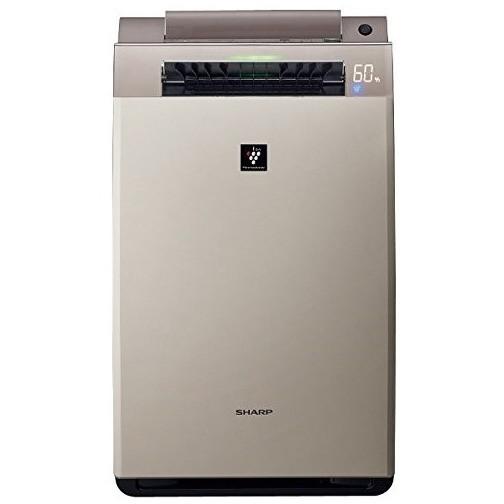 【送料無料】SHARP(シャープ) KI-FX100 ゴールド系 [加湿空気清浄機 (空気清浄46畳/加湿26畳まで)]加湿/除電/節電/高濃度プラズマクラスター25000/花粉/脱臭/ウイルス/ホコリ/パワフル吸塵/PM2.5対応/ココロエンジン