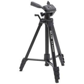 SLIK GX 6400 ドローライン [四段小型 三脚 ] スリック 軽量 ビデオカメラ 一眼 コンデジ デジカメ 高級 本格 初心者 簡単 コンパクト