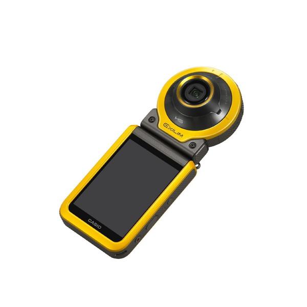 【送料無料】CASIO EX-FR100-YW イエロー EXILIM [コンパクトデジタルカメラ (1020万画素)]
