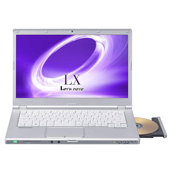 【送料無料】PANASONIC CF-LX5HDAQR Let's note(レッツノート) LX5 [ノートパソコン 14型ワイド液晶 HDD500GB DVDスーパーマルチ]【同梱配送不可】【代引き不可】【沖縄・離島配送不可】