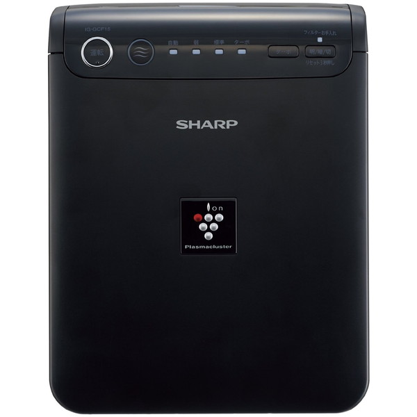 【送料無料】SHARP IG-HCF15-B ブラック系 [車載用プラズマクラスターイオン発生機 (フィルター搭載タイプ)]
