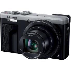 【送料無料】PANASONIC DMC-TZ85-S シルバー LUMIX [コンパクトデジタルカメラ (1810万画素)]