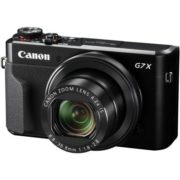 【送料無料】CANON PowerShot G7 X Mark II PowerShot [コンパクトデジタルカメラ(約2,010万画素)]